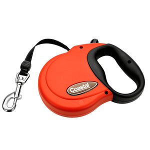 Coastal Power Walker Retractable Lead Large 16' Red