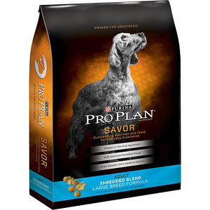 Pro Plan Savor Shredded Adult Large Breed Dry Dog Food