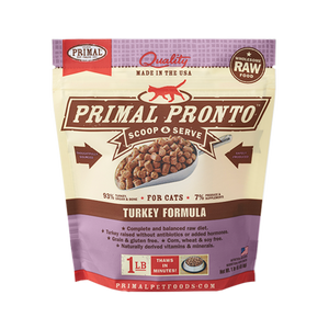 Primal Cat Frozen Pronto Turkey