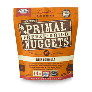 PrimalFreeze Dried Nuggets Beef