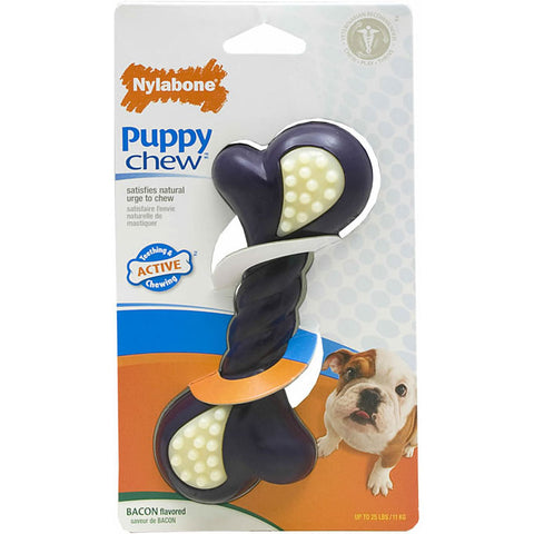 Nylabone Puppy Double Action Chew Large