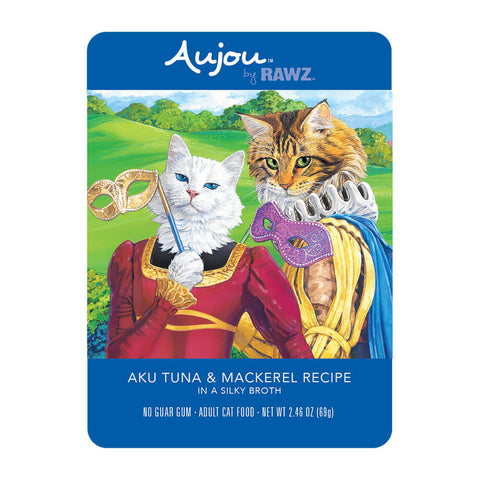 RAWZ Aujou Tuna & Mackeral Wet Cat Food