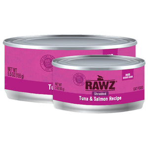 RAWZ Shredded Tuna & Salmon Wet Cat Food