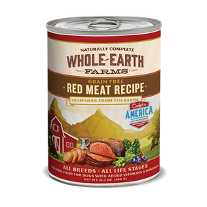 Whole Earth Grain Free Red Meat