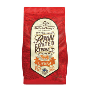 Stella & Chewy's Raw Coated Kibble Beef Dry Dog Food