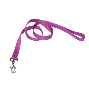 "Coastal Nylon Lead 6' - 5/8"" Orchid"