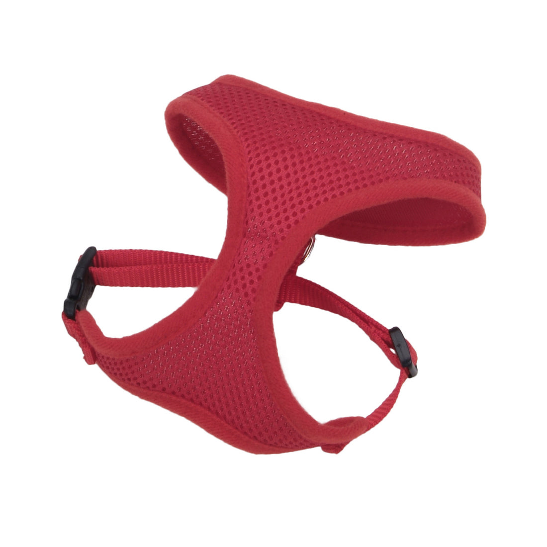 Coastal Comfort Soft Adjustable Harness Medium Red