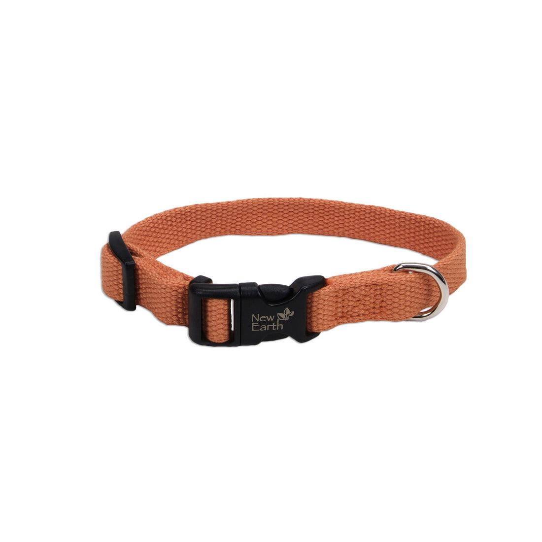 "Coastal Soy Adjustable Collar 6-8"" - 3/8"" Pumpkin"