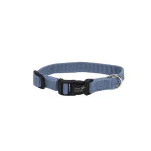 "Coastal Soy Adjustable Collar 6-8"" - 3/8"" Slate"