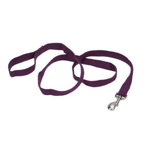 "Coastal Soy Leash 6' - 1"" Eggplant"