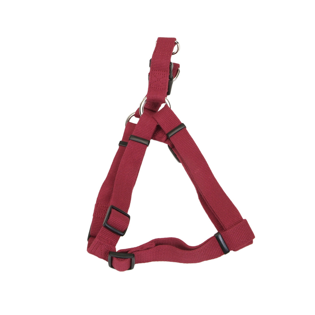 "Coastal Soy Comfort Wrap Adjustable Harness 26-38"" Cranberry"