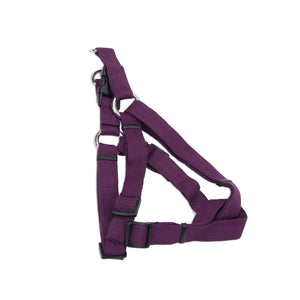 "Coastal Soy Comfort Wrap Adjustable Harness 16-24"" Eggplant"