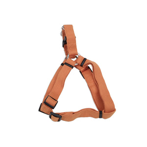"Coastal Soy Comfort Wrap Adjustable Harness 26-38"" Pumpkin"