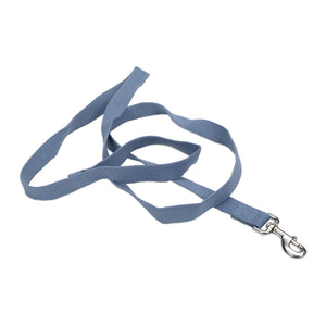 "Coastal Soy Leash 6' - 5/8"" Slate"
