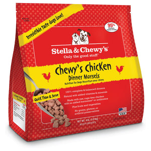 Stella & Chewy's Frozen Chewy's Chicken Dinner Morsels Dog Food