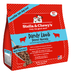 Stella & Chewy's Frozen Dandy Lamb Dinner Morsels Dog Food