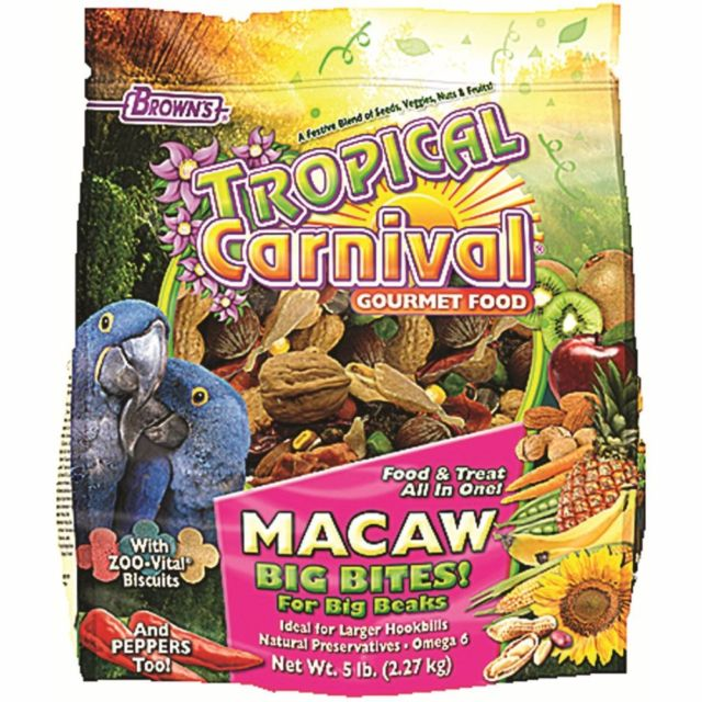 Browns Tropical Carnival Macaw