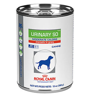Royal Canin Veterinary Diet Canine Urinary SO Moderate Calorie Wet Dog Food