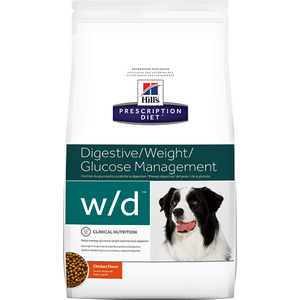 Hills Prescription Diet W/D Chicken Dry Dog Food