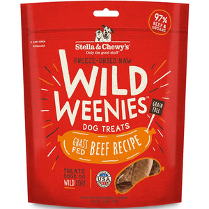 Stella & Chewy's Freeze Dried Wild Weenies Beef Dog Food