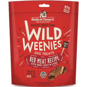 Stella & Chewy's Freeze Dried Wild Weenies Red Meat Dog Food