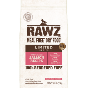 RAWZ Limited Ingredient Diet Salmon Dry Dog Food