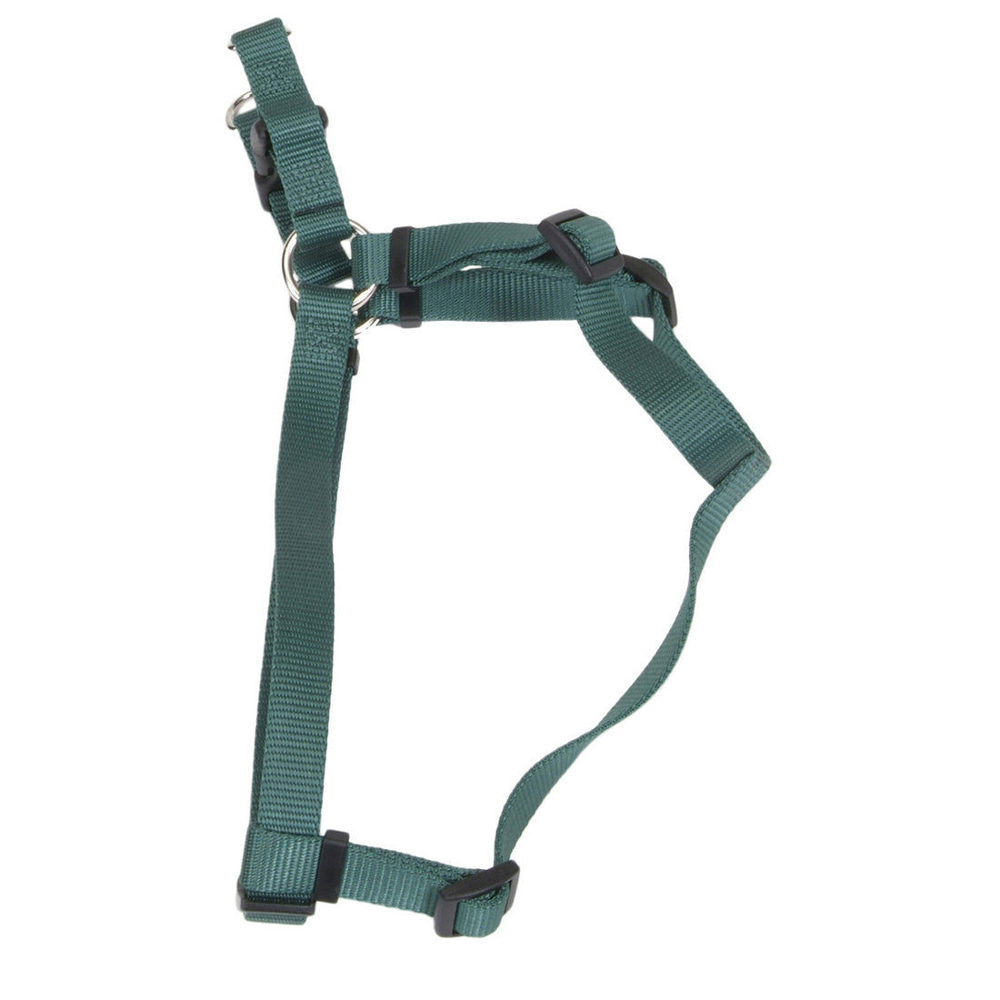 Coastal Comfort Wrap Adjustable Nylon Harness Medium Hunter