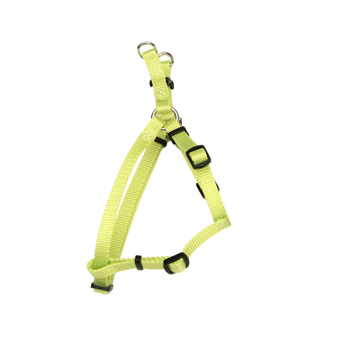 Coastal Comfort Wrap Adjustable Nylon Harness Medium Lime