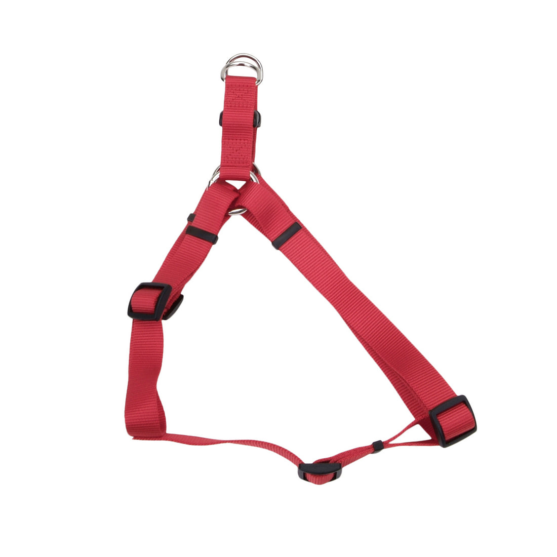 Coastal Comfort Wrap Adjustable Nylon Harness Large Red