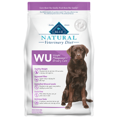 Blue Buffalo Natural Veterinary Diet WU Weight Management + Urinary Care