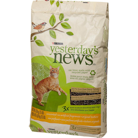 Yesterday's News Unscented Cat Litter