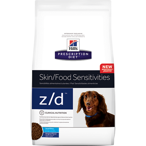 Hills Prescription Diet Z/D Small Bites Dry Dog Food