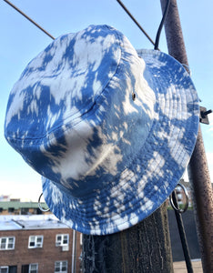"""Cloudy"" Acid Bucket Hat"