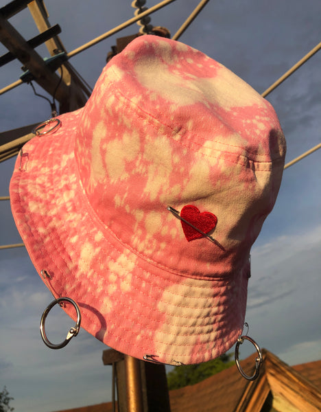 """Candy Heart"" Bucket Hat"