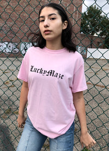 Lucky Maze Light Pink Tee