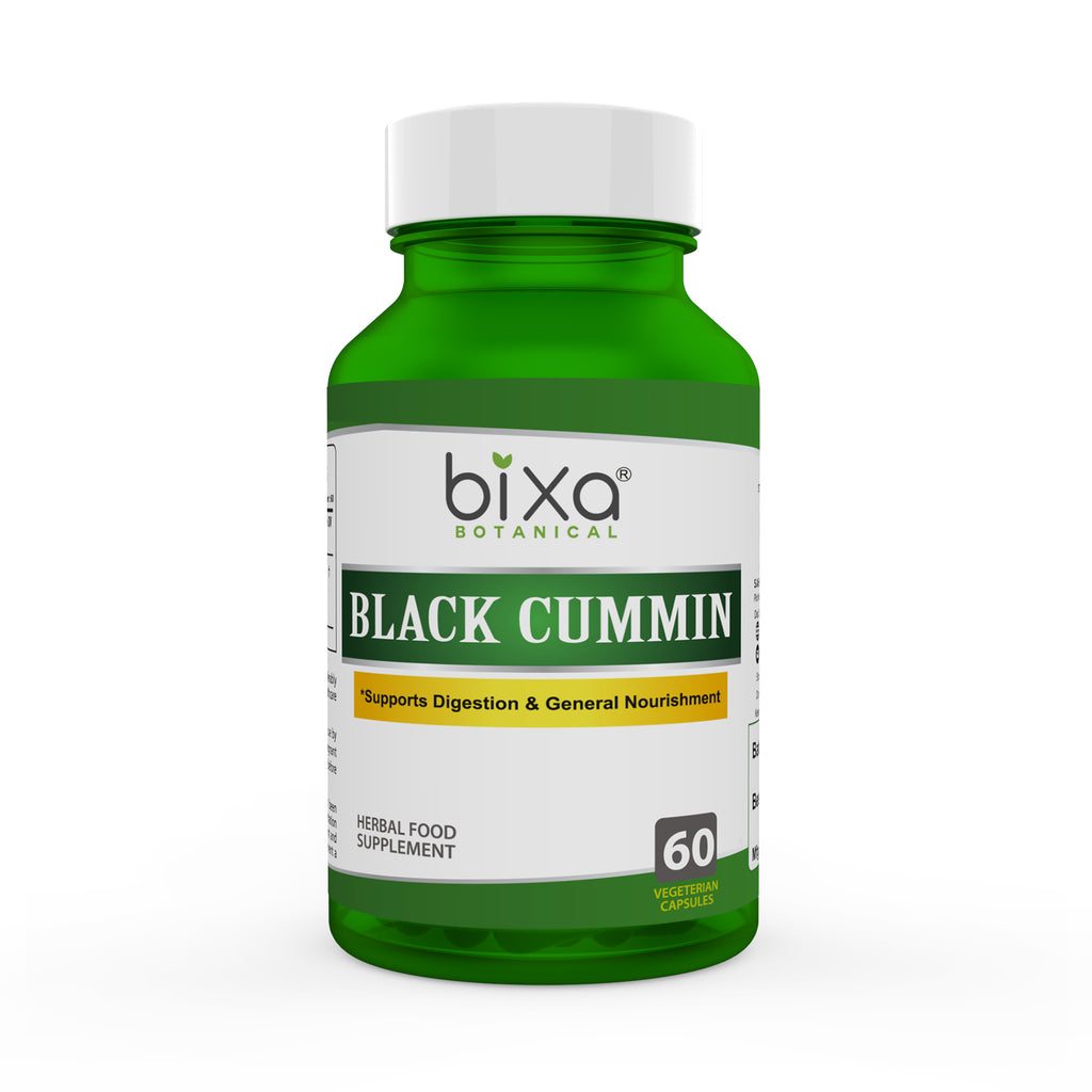 Black Seed Extract 10% Bitters 450mg Veg Capsules