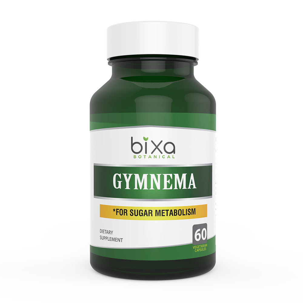 Gymnema Extract 25% Gymnemic acids 450mg Veg Capsules