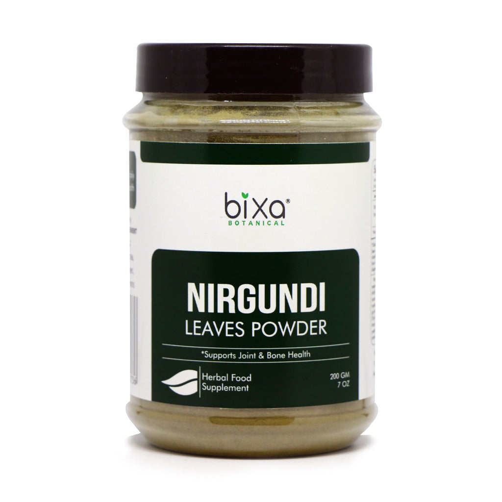 Nirgundi Leaves Powder  Vitex negundo