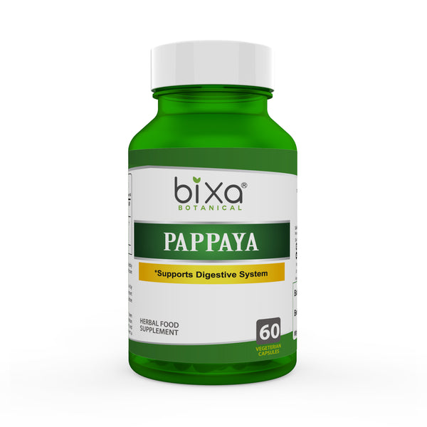 Papaya leaf extract 450mg Veg Capsules