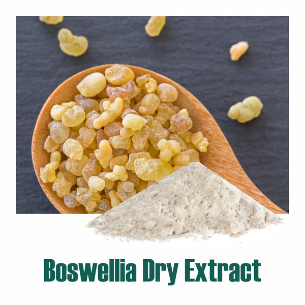 Boswellia dry Extract - 65% Boswellic acid by Titration