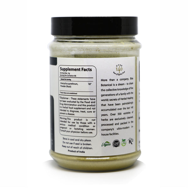 Pellitory Root Powder  Anacyclus pyrethrum