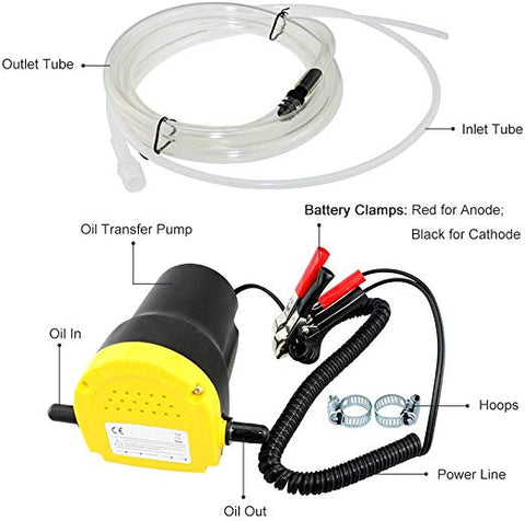 Oil Change Pump Professional Electric Oil Pump QuickExtract