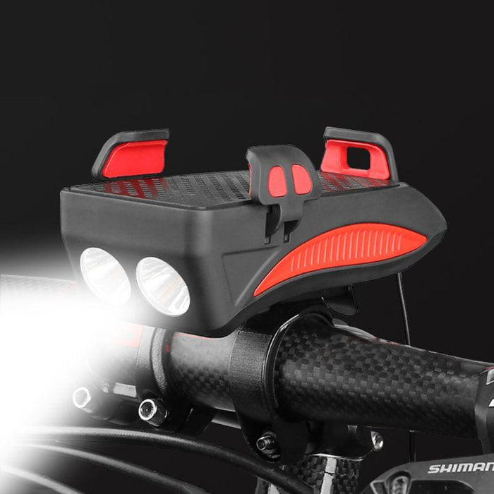 Smartphone Bike Mount With LED