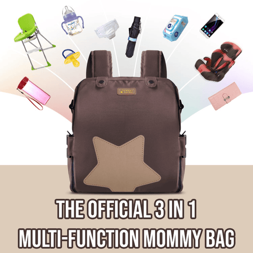 3 In 1 Multi-Function Mommy Bag