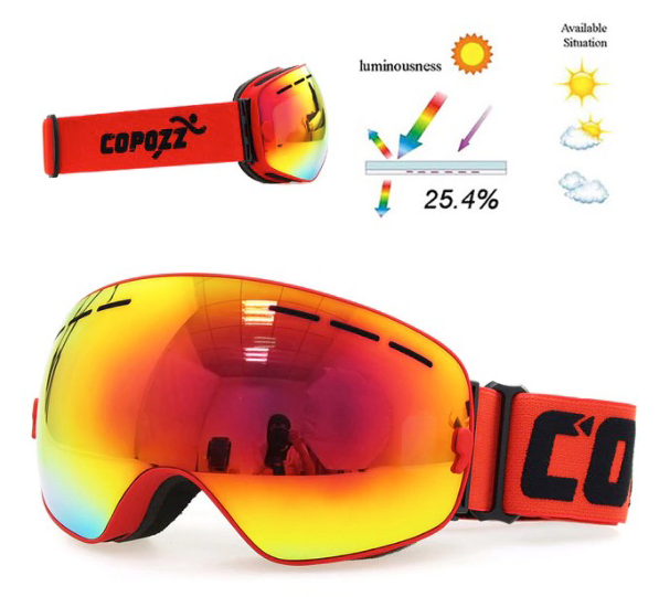 ClearAsDay™ - Polarized Snow Goggles
