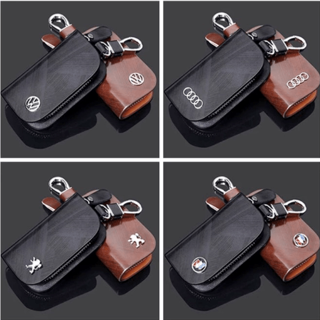 Leather Car Key Case