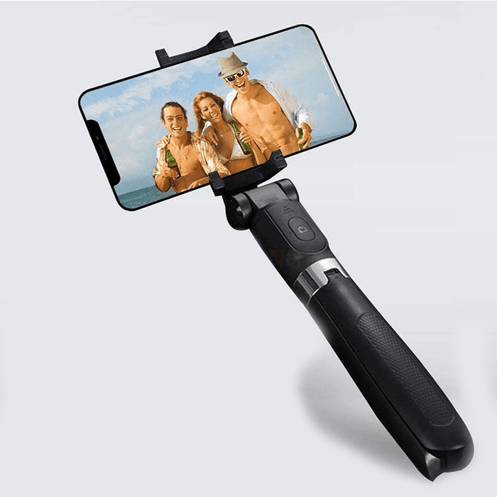 Selfie Stick 2-in-1 Tripod with Detachable Bluetooth Remote Control