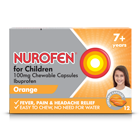 NUROFEN FOR CHILDREN CHEWABLE CAPSULES