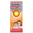 NUROFEN FOR CHILDREN STRAWBERRY