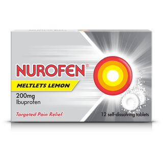 Nurofen Meltlets Lemon